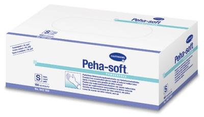 Peha-soft® Latex Untersuchungshandschuhe von HARTMANN, puderfrei Größe S