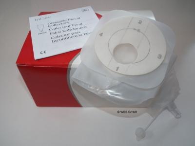 Fäkal Kollektor, 1000 ml, 10 Stück