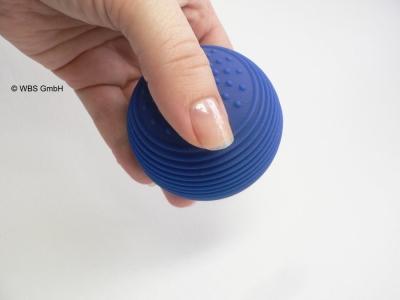 Physio-Reflexball, Massageball, blau