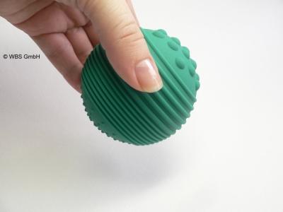 Physio-Reflexball, Massageball, gruen