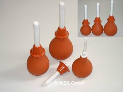 Kombi aus Frauendusche / Klistierspritze Set 224, 347 und 480 ml