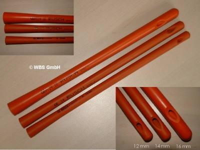 Darmrohr Rüsch 14 mm, Einlauf - Klistier
