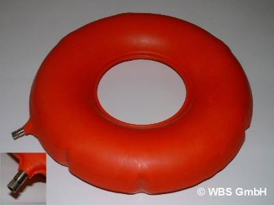 Sitzring aus Gummi 42,5 cm,  Dekubitusprophylaxe