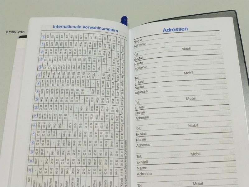 Adler Teamwork Taschenkalender 2020 Kalender Organizer