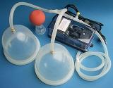 - Brust-Komplettset für Sie, Vakuumtherapie