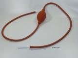 - Klyso 120 cm mit Klistierspitze / Kanüle - Einlauf - Klistier