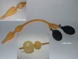 Doppelballon Darmrohr mit 2 Gebläse - Darmkatheter, Ballondarmrohr