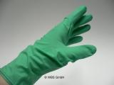 Latex Untersuchungs Handschuhe grün Größe L