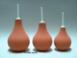 Klistier - Birnenspritze - rotbraun - 224 ml - Einlauf-Klistier